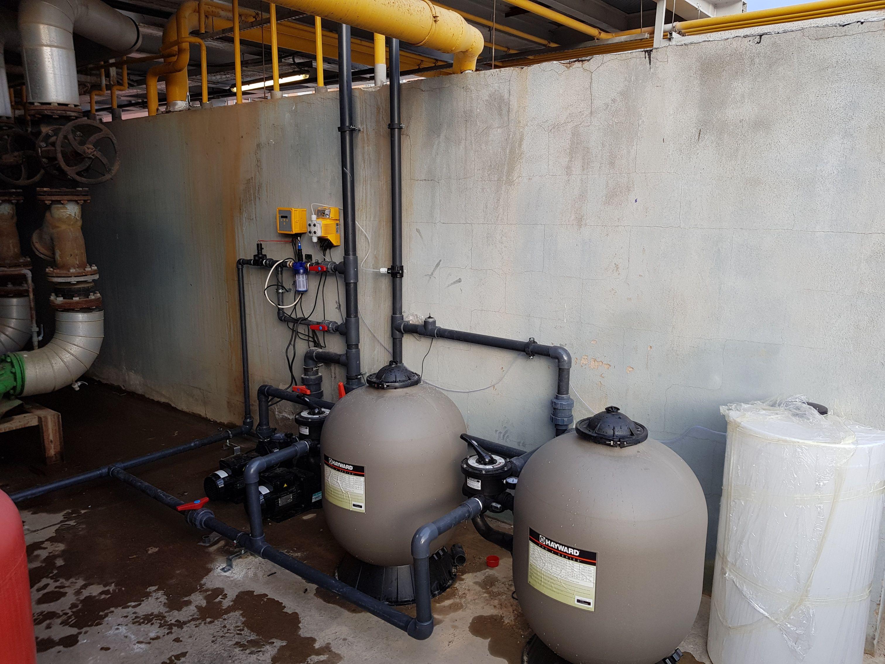 Instalaciones industriales de tratamientos de aguas en Valencia