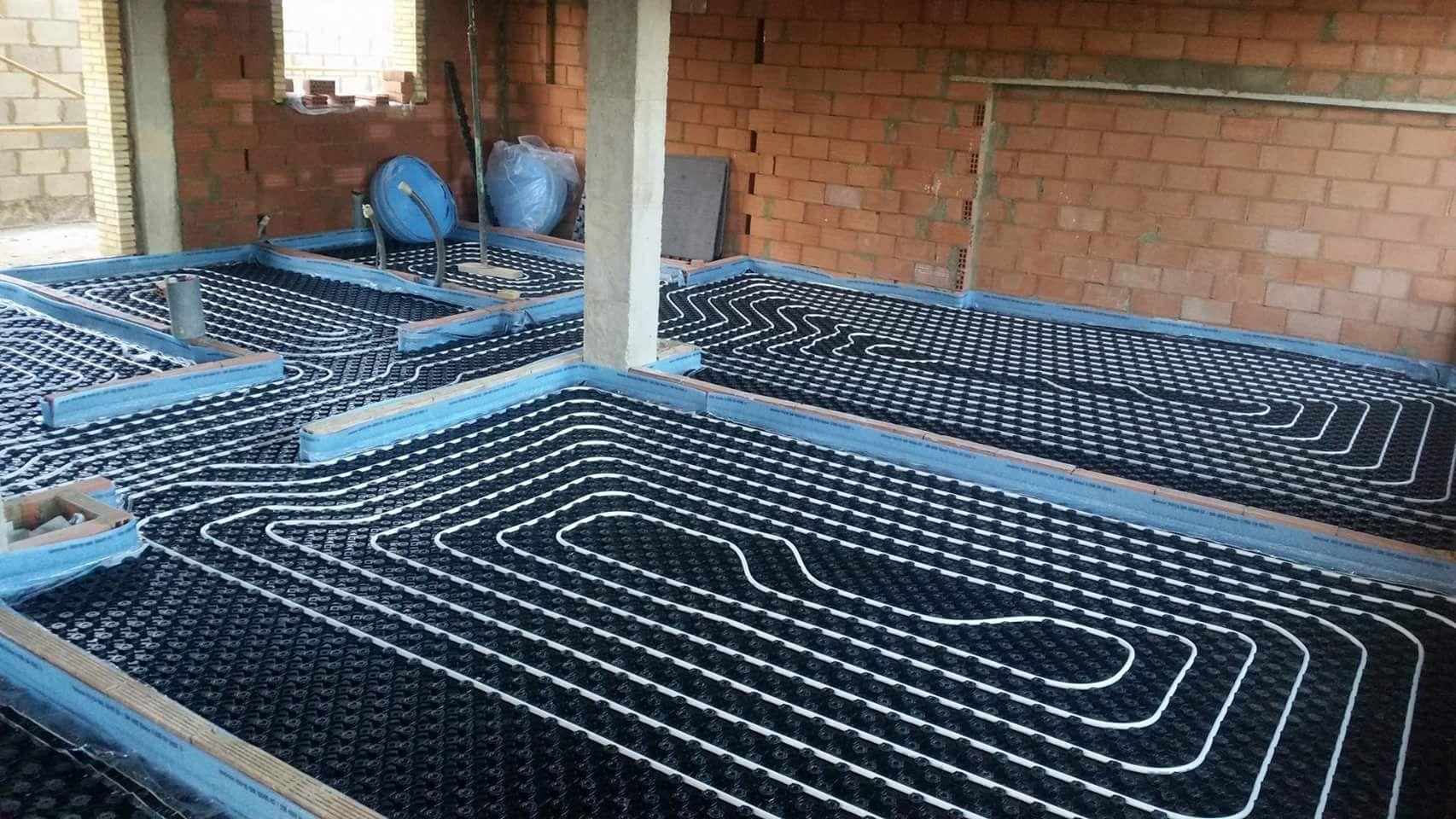Instalaciones de suelos radiantes en Valencia