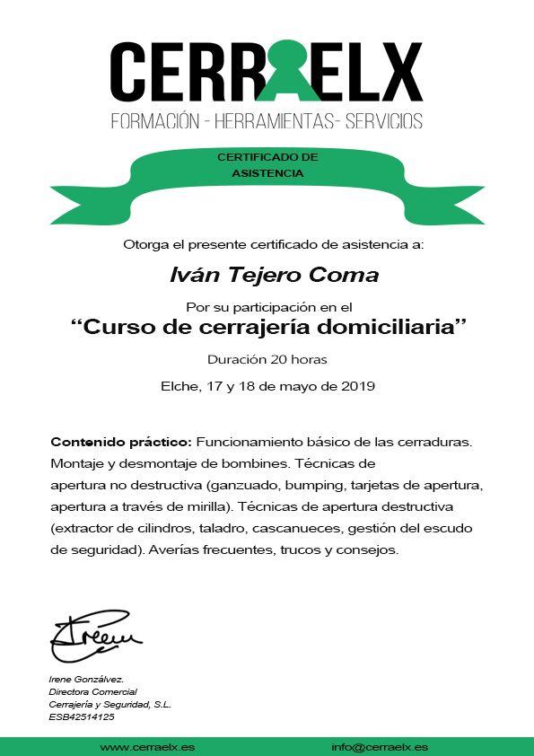 Cerrajero certificado en Girona