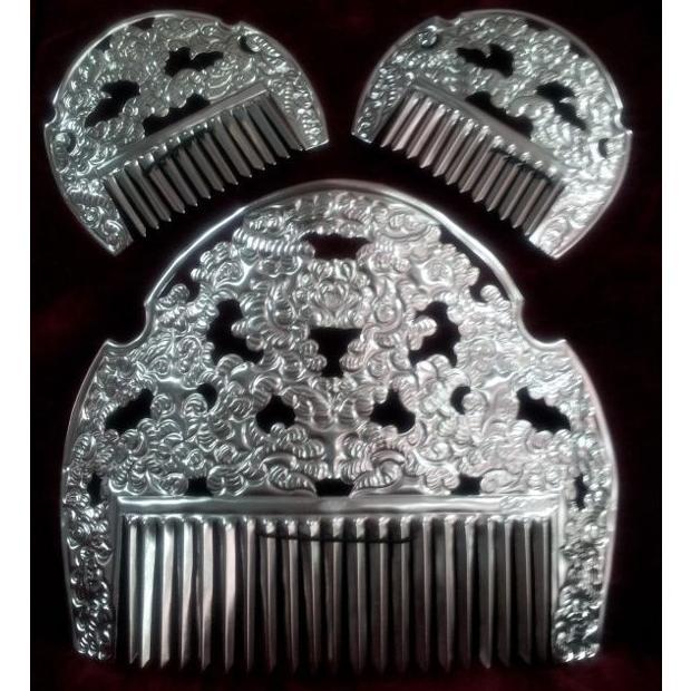 Peinetas de plata : Tienda online  de Marga Noguera
