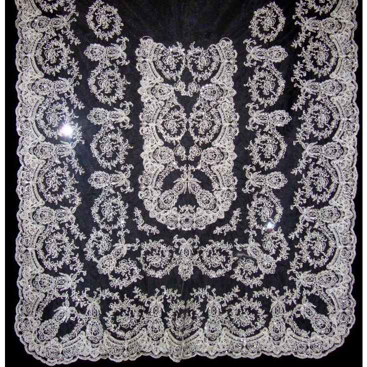 Manteleta plata : Tienda online  de Marga Noguera