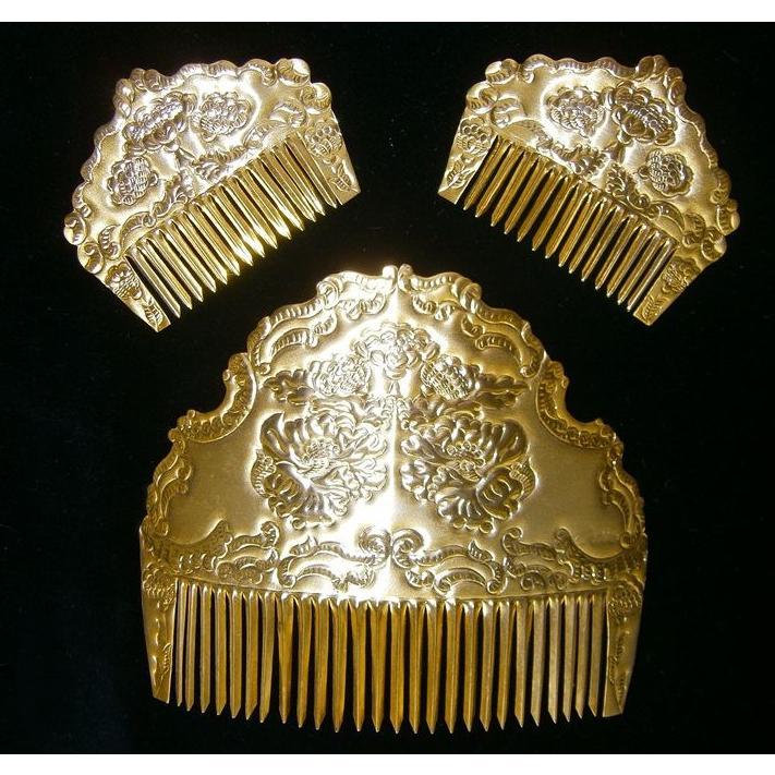 Peinetas oro : Tienda online  de Marga Noguera
