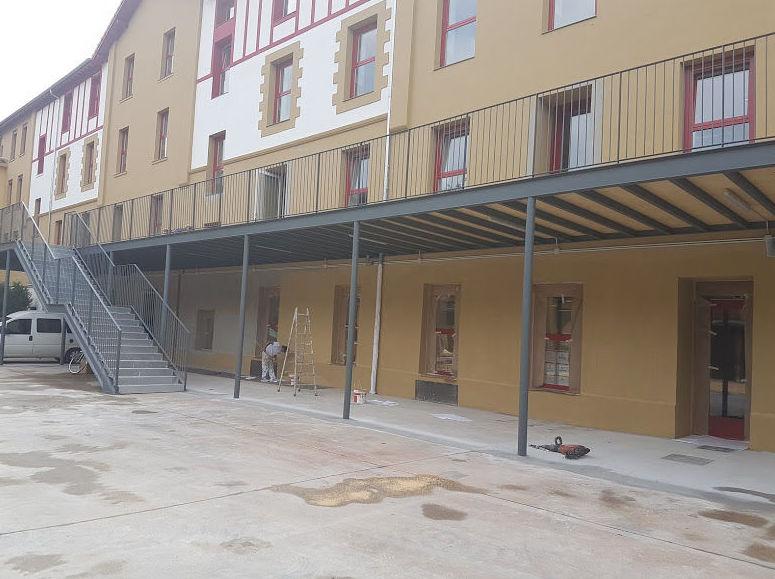 Restauración y pintura de fachadas: Servicios de Jorge Pinturak Margoak S.L.U.