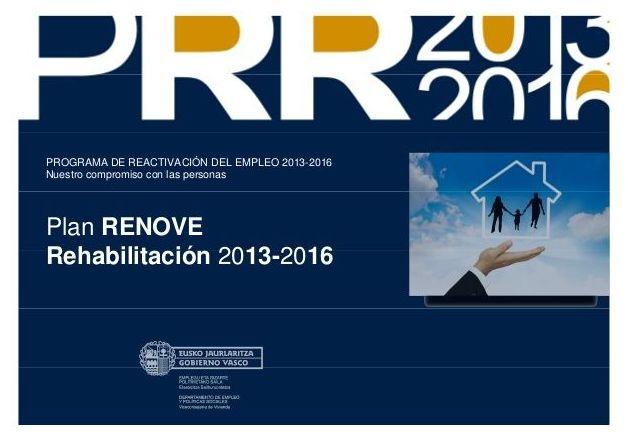Ayudas a particulares y CP para la rehabilitación de edificios del PAIS VASCO