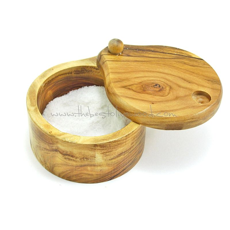 saleros de madera de olivo