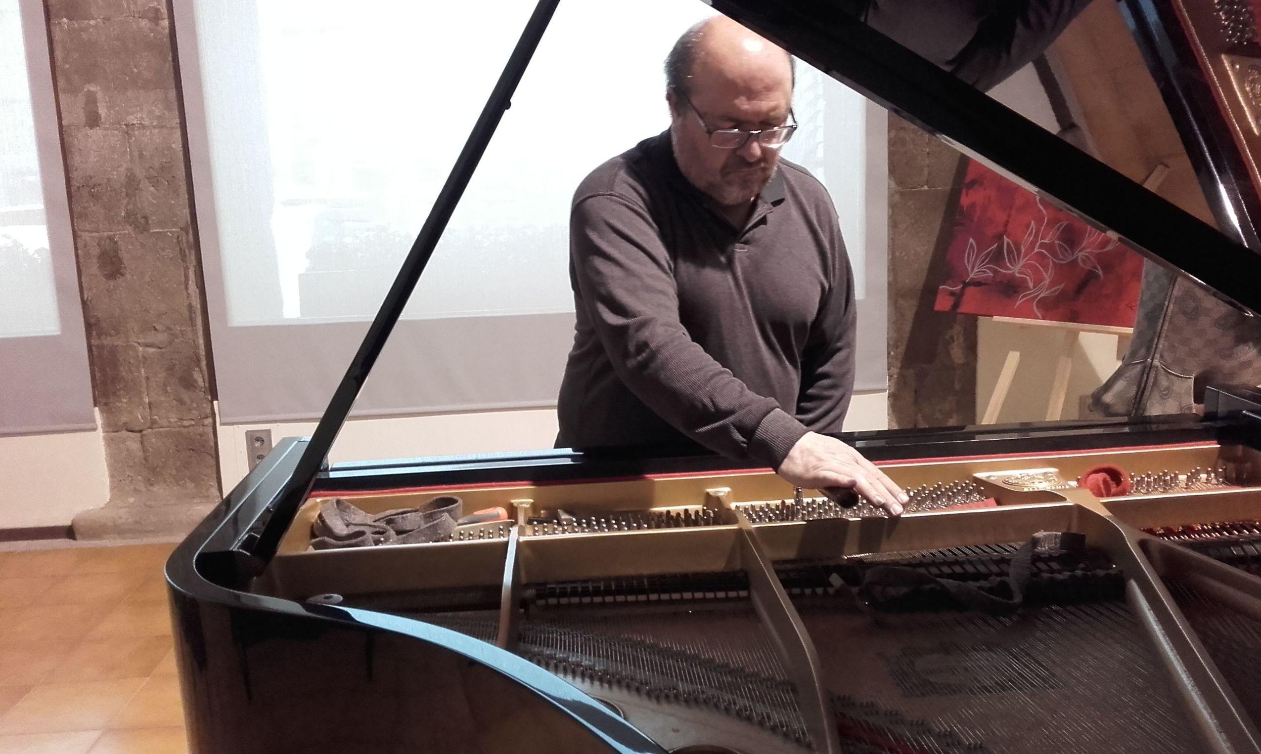 Reglaje de pianos en Ssabadell