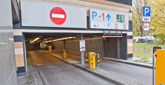 Parking 24 horas en A Coruña