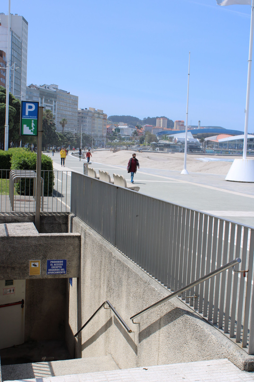 Peatonal directa al paseo marítimo