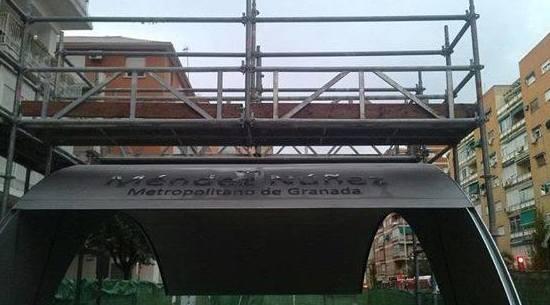 Infraestructura de transporte público para Granada