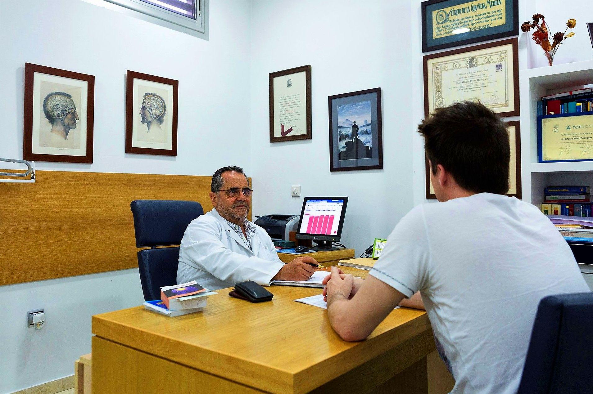 Foto 7 de Médicos especialistas Psiquiatría en Sevilla | Alfonso Prieto Rodríguez - Médico Psiquiatra