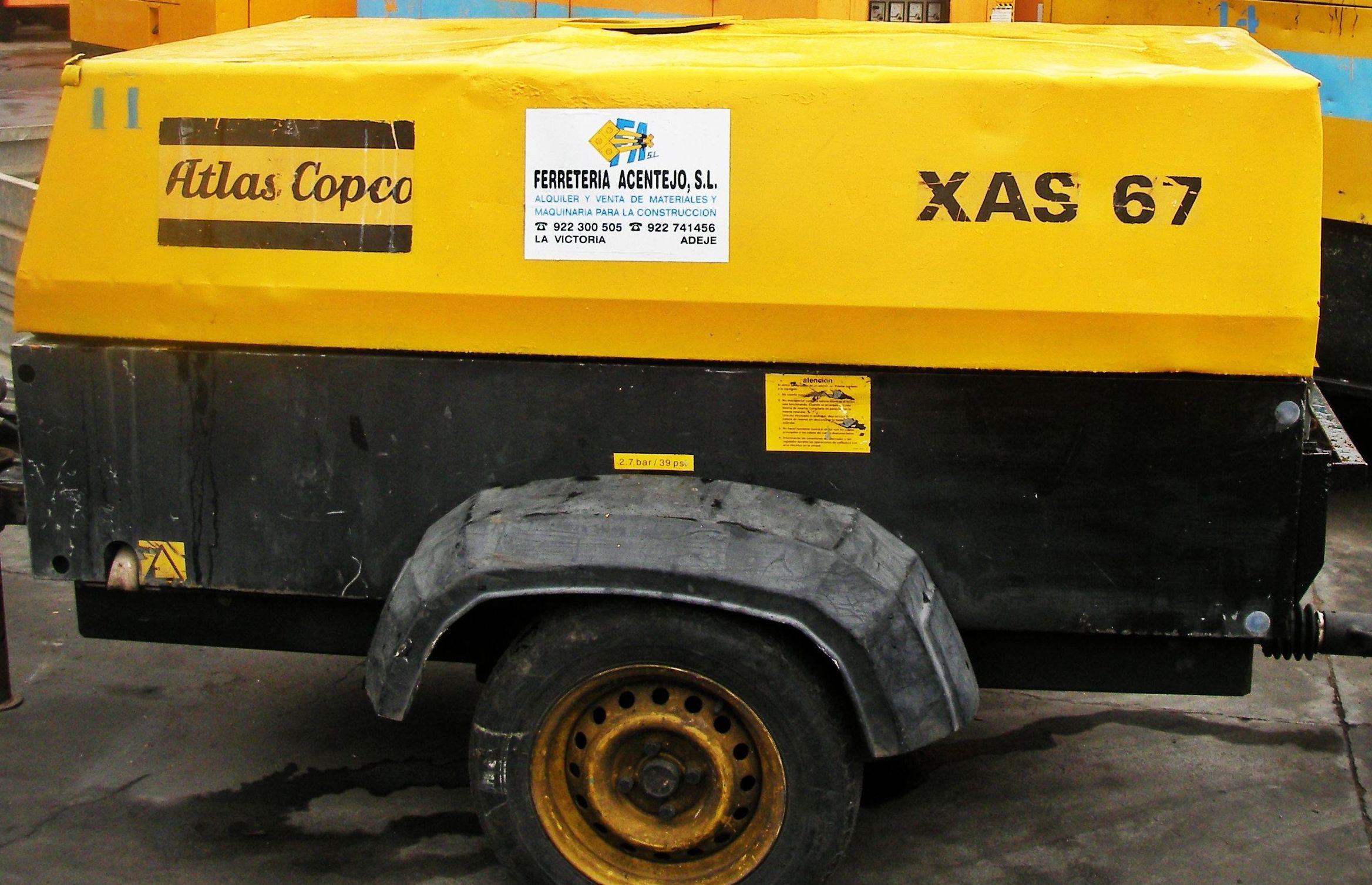 Compresores neumáticos: PRODUCTOS PARA ALQUILAR de Ferretería Acentejo, S.L.
