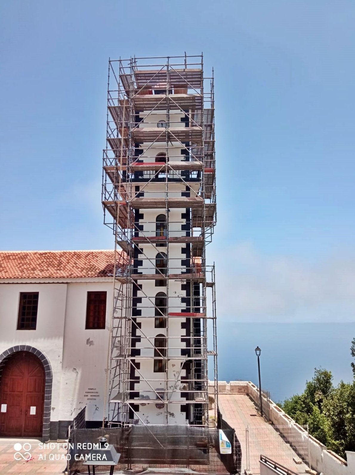 Reformas iglesia de La Vega. 2ª parte.