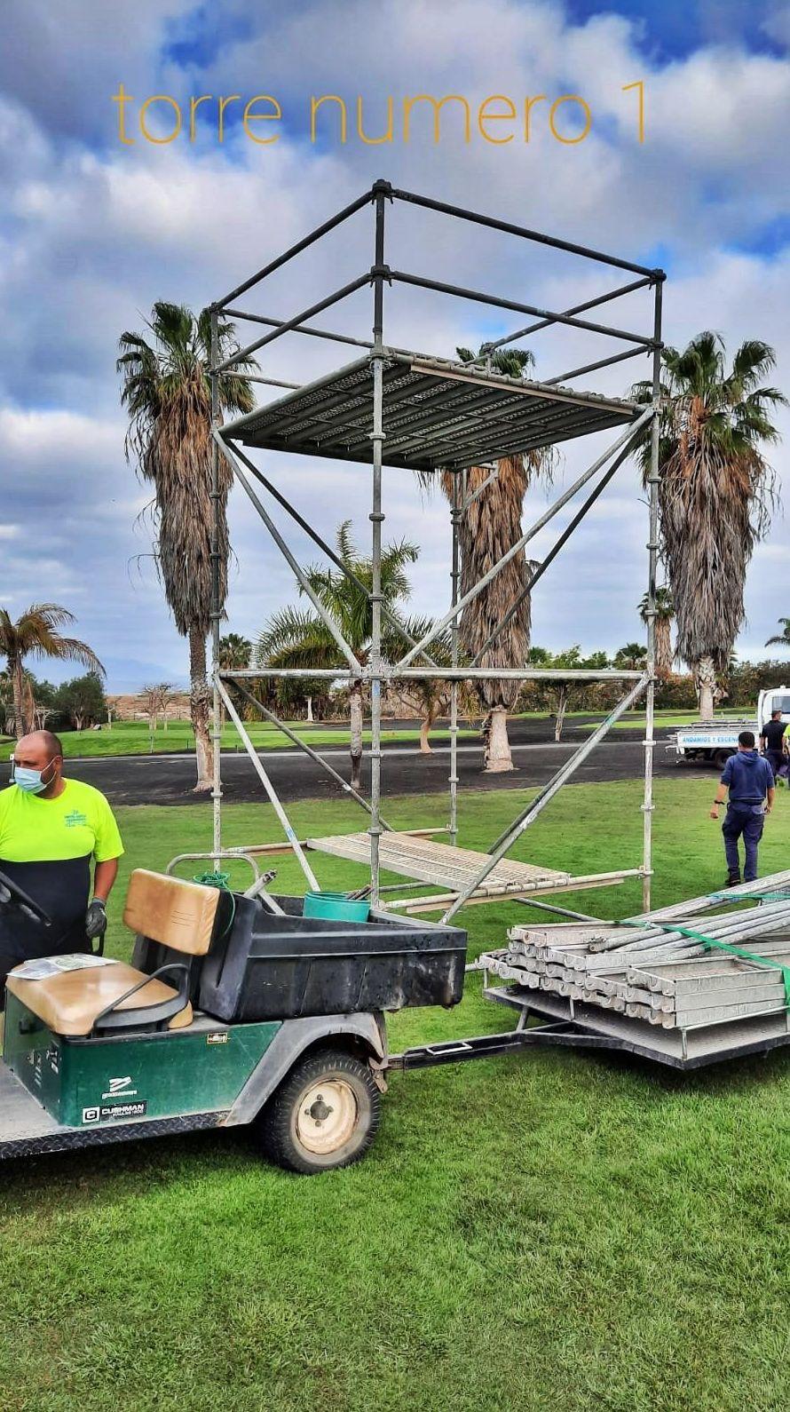 Torre de control. Golf Costa Adeje.