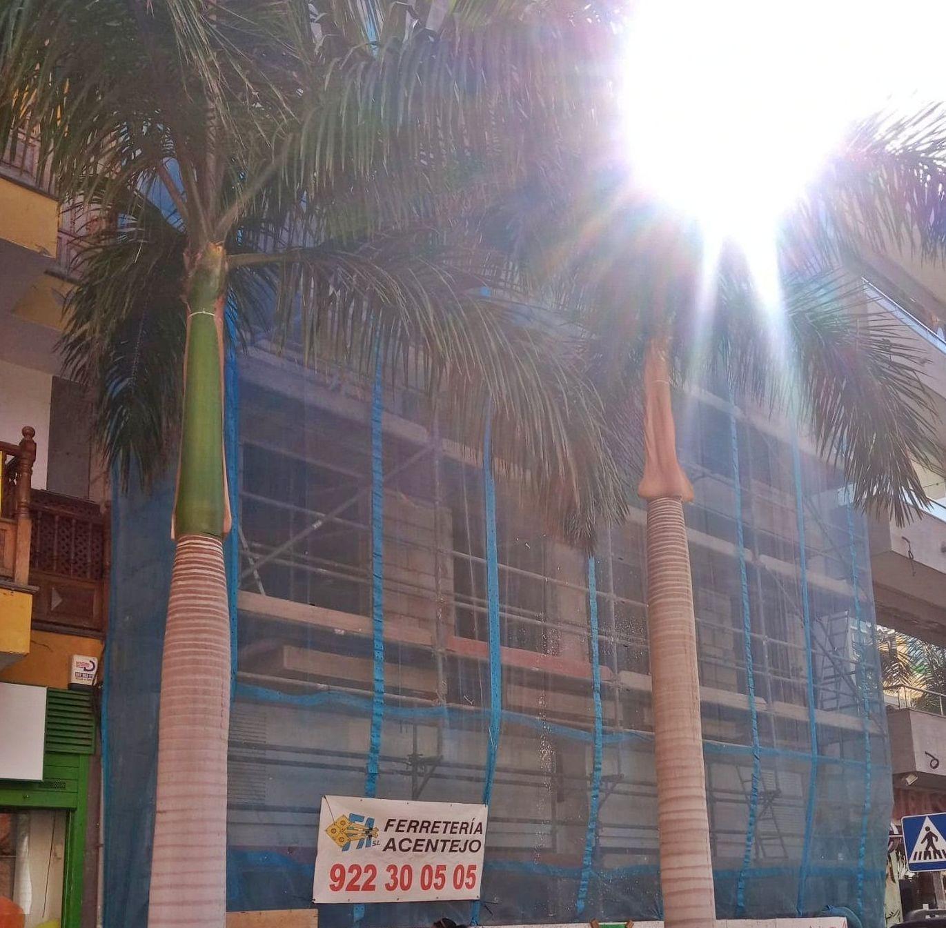Montaje y alquiler de andamios en fachada