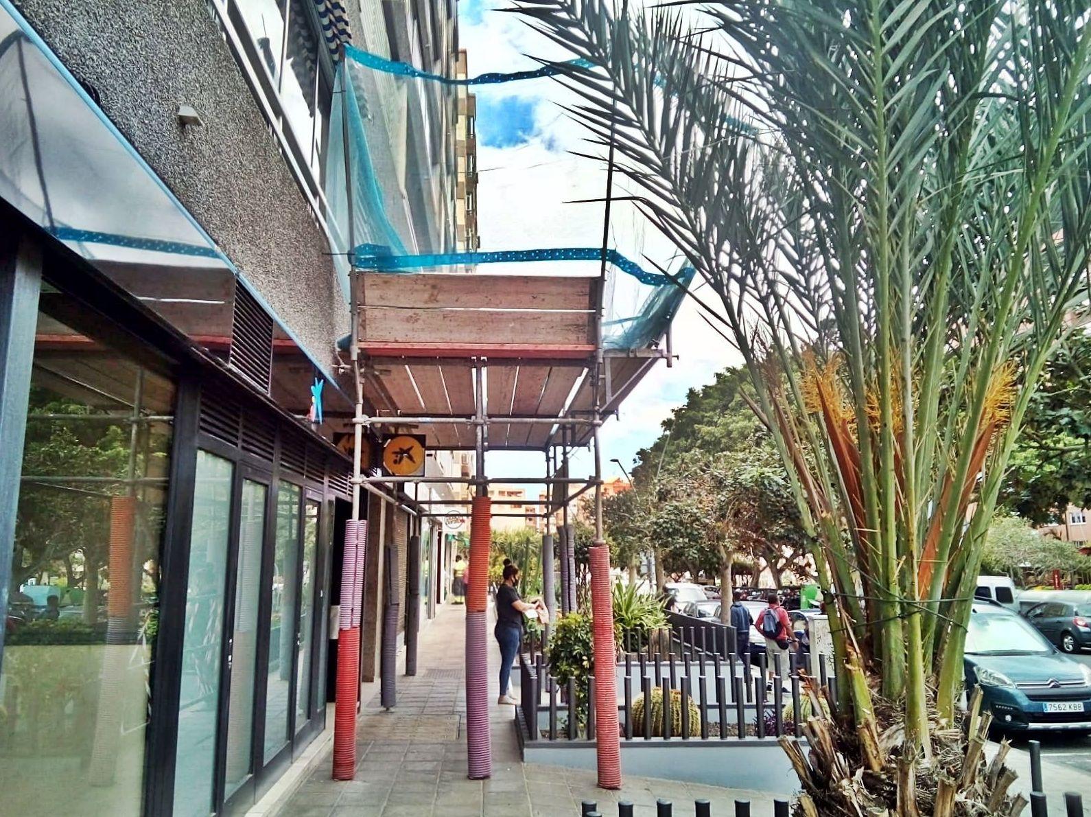 Alquiler y montaje de andamios. Tenerife.