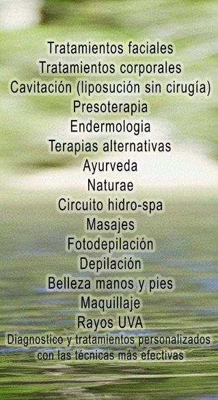 Aparatologia y técnicas de Iraga wellnesscenter