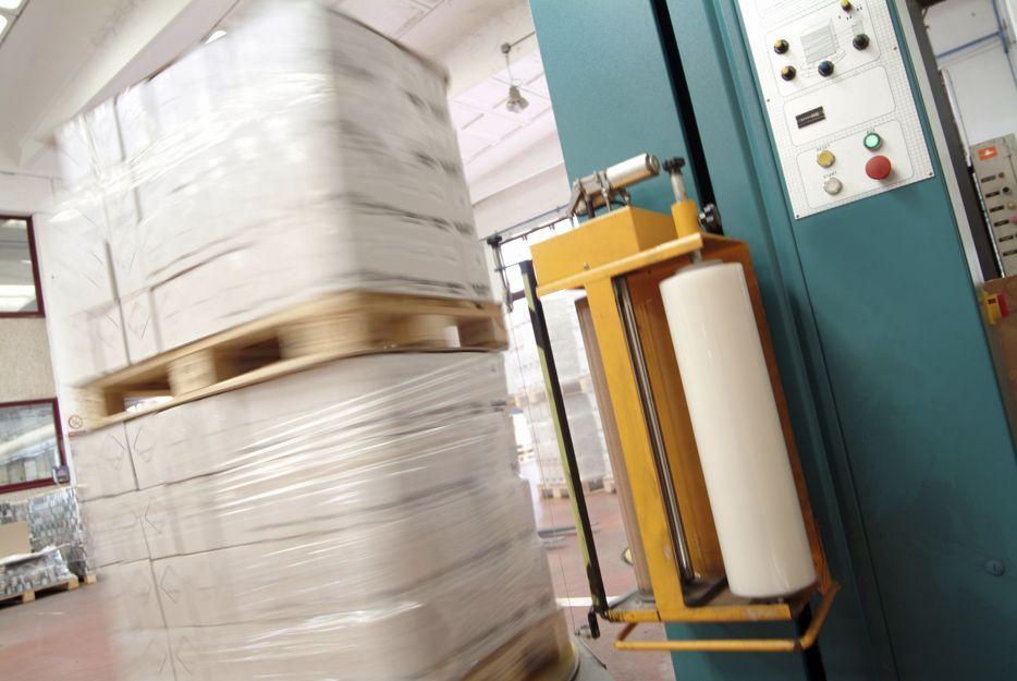 Rollos de plástico para paletizadoras en Vizcaya