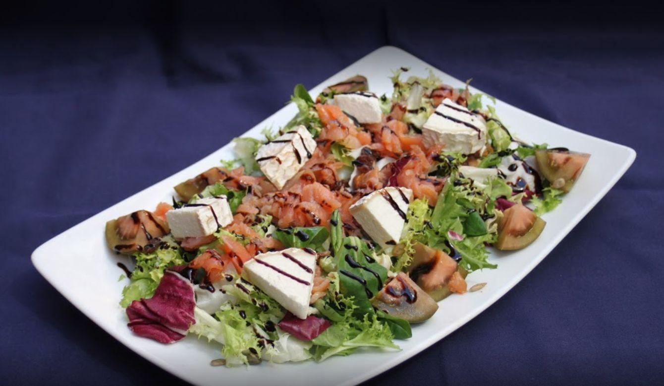 Ricas y frescas ensaladas