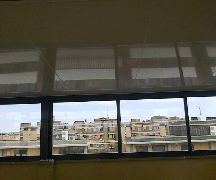 Trabajos de cerramientos de terrazas en Zaragoza