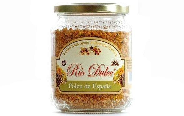 Polen Río Dulce en envases de 120, 225 y 500 gr.