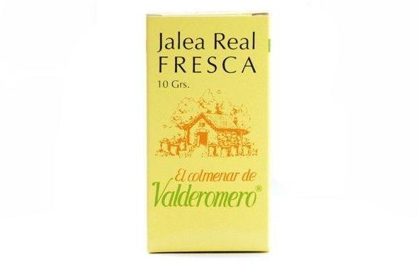 """Jalea real fresca """"El Colmenar de Valderromero"""" 10 g: Productos. Acceso On Line de El Colmenar de Valderromero"""