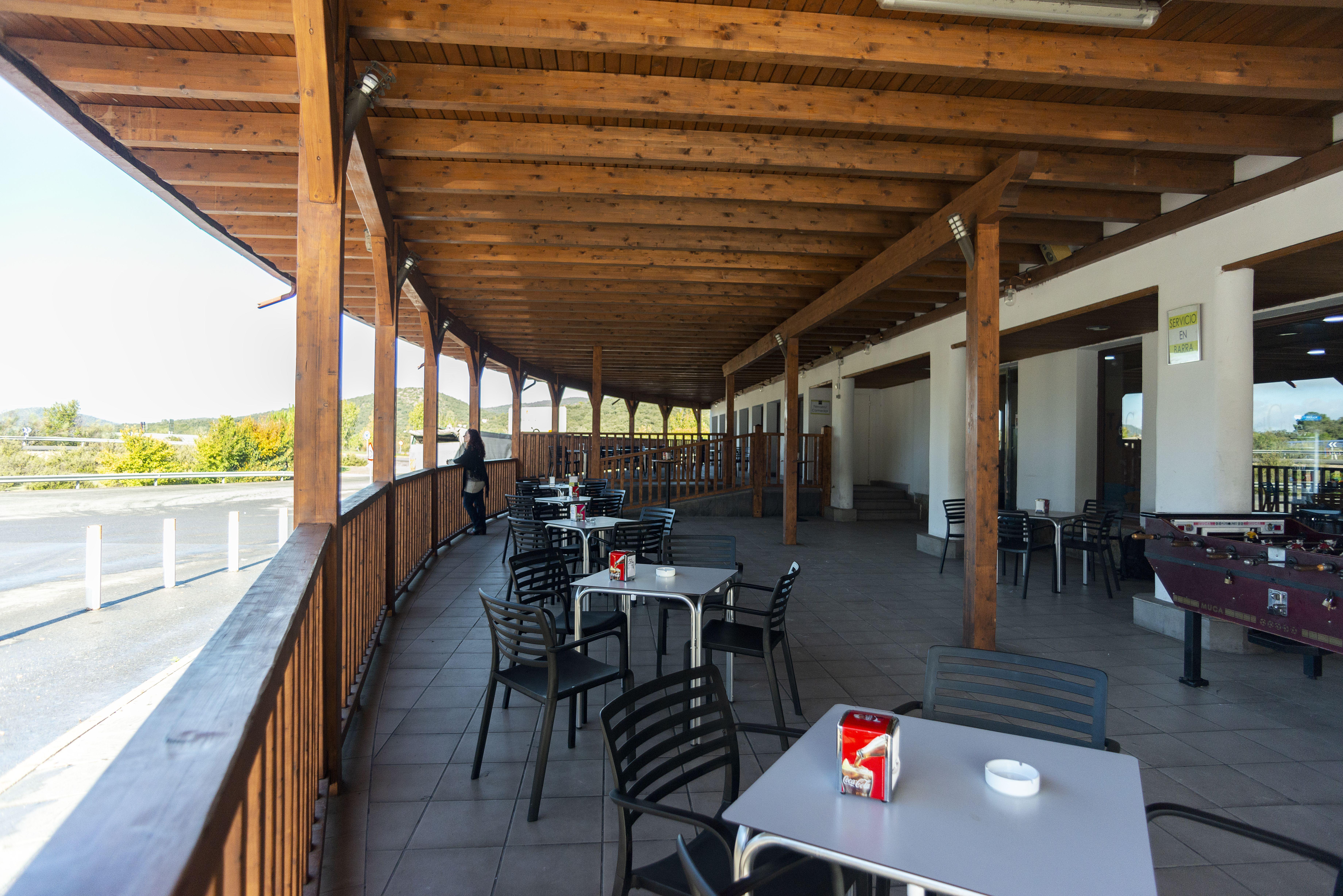 Cafetería con maravillosas vistas en Sierra de Córdoba