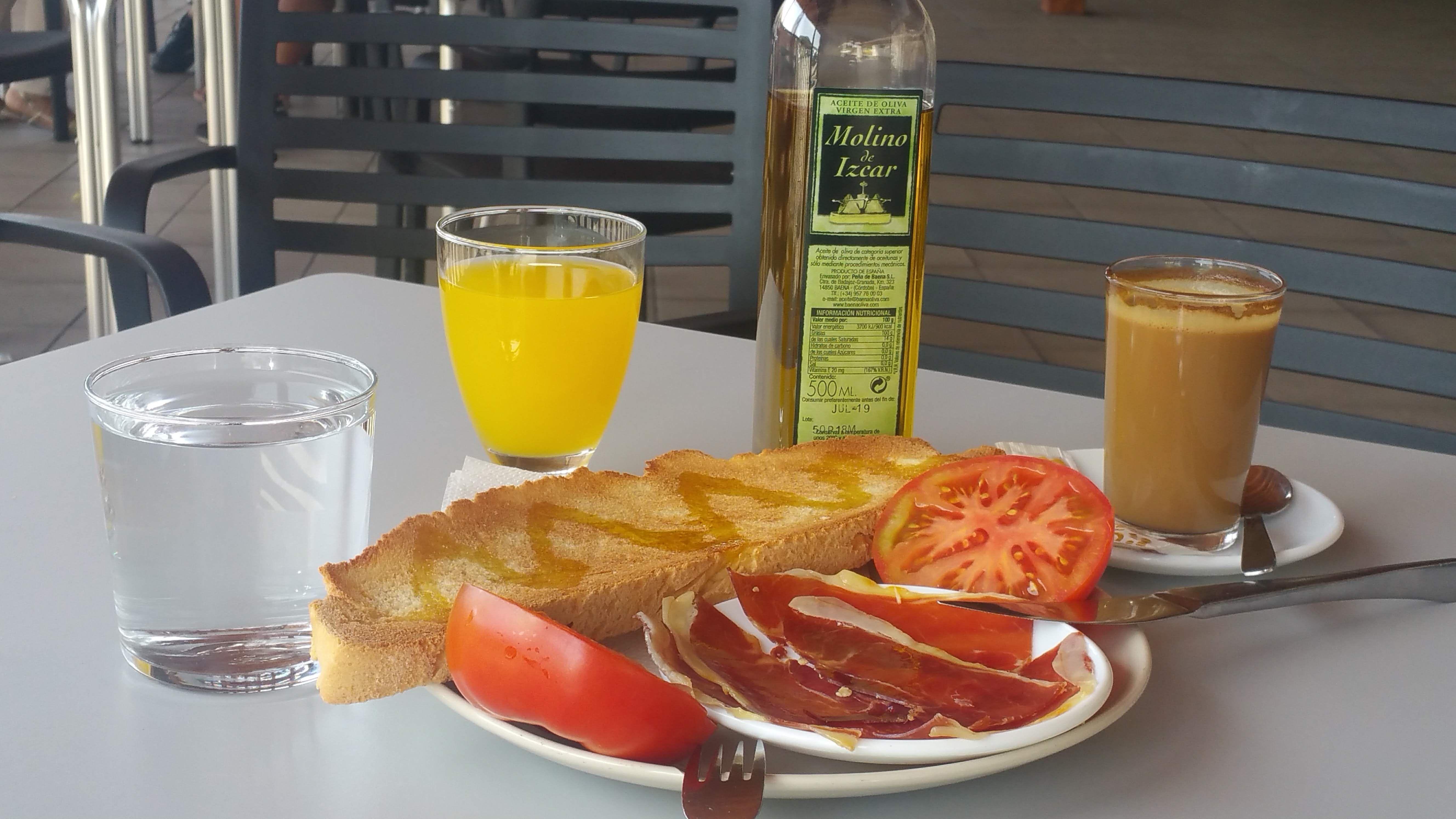 Desayunos y meriendas Sierra de Córdoba
