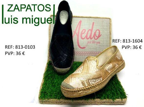 zapatillas de esparto: Catalogo de productos de Zapatos Luis Miguel