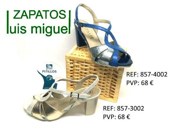 sandalias de Pitillos tacon alto: Catalogo de productos de Zapatos Luis Miguel