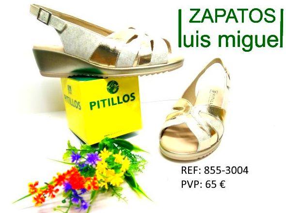 sadalias pitillos cuña bajita: Catalogo de productos de Zapatos Luis Miguel