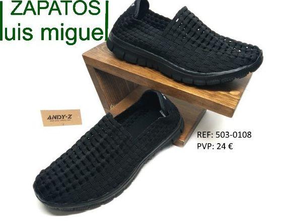 zapatillas elasticas con piso negro: Catalogo de productos de Zapatos Luis Miguel