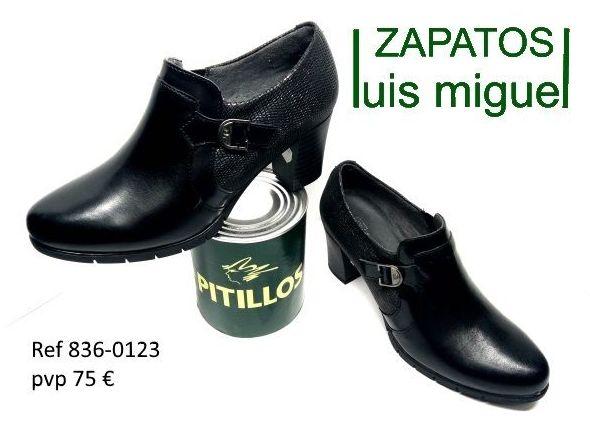 zapatos abotinados Pitillos (ref 836 0123): Catalogo de productos de Zapatos Luis Miguel