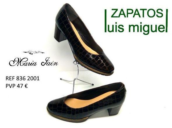 salon en piel imitando cocodrilo Maria Jaen ( ref 836-2001): Catalogo de productos de Zapatos Luis Miguel