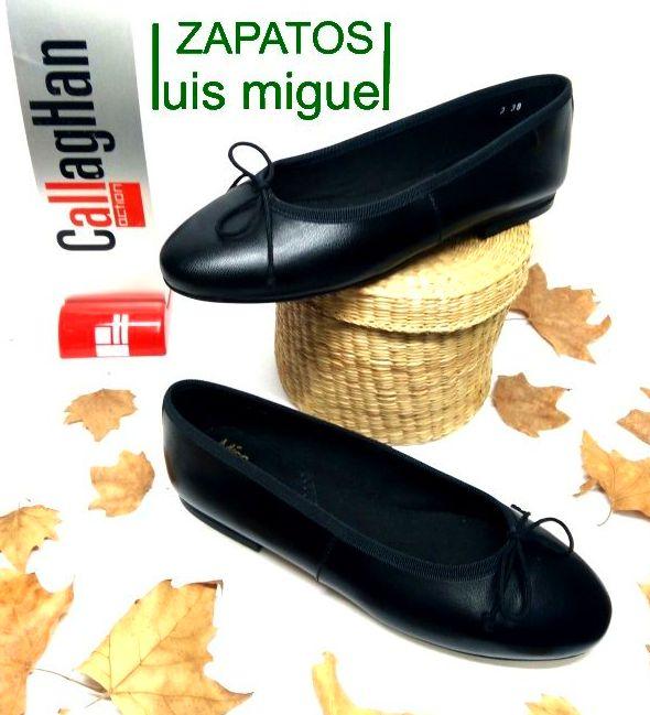 manoletina clasica callaghan: Catalogo de productos de Zapatos Luis Miguel