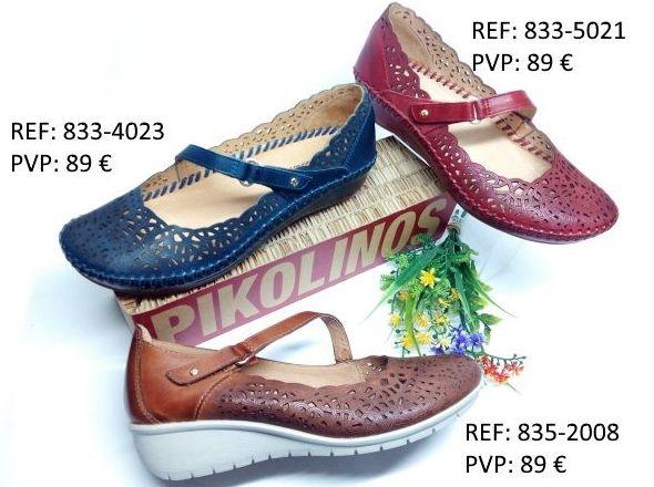 merceditas de Pikolinos: Catalogo de productos de Zapatos Luis Miguel