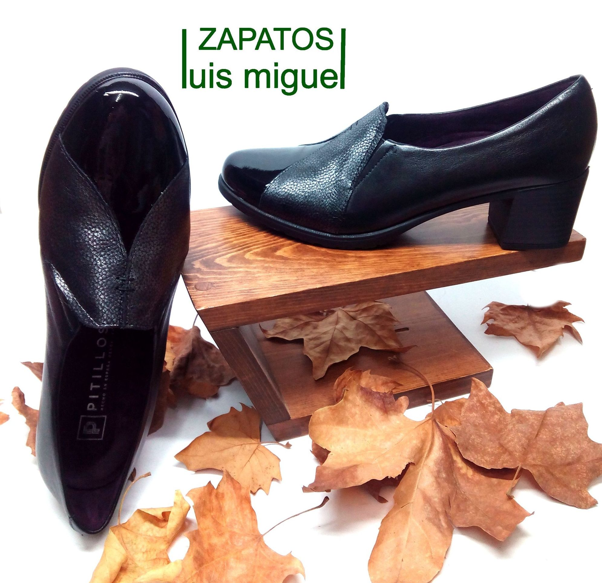 tipo mocasin con tacon: Catalogo de productos de Zapatos Luis Miguel