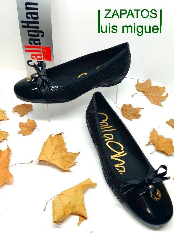 zapato salon manoletina callaghan: Catalogo de productos de Zapatos Luis Miguel