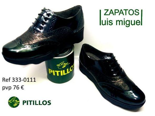 zapatos de cordones pitillos ( ref 333 0111): Catalogo de productos de Zapatos Luis Miguel