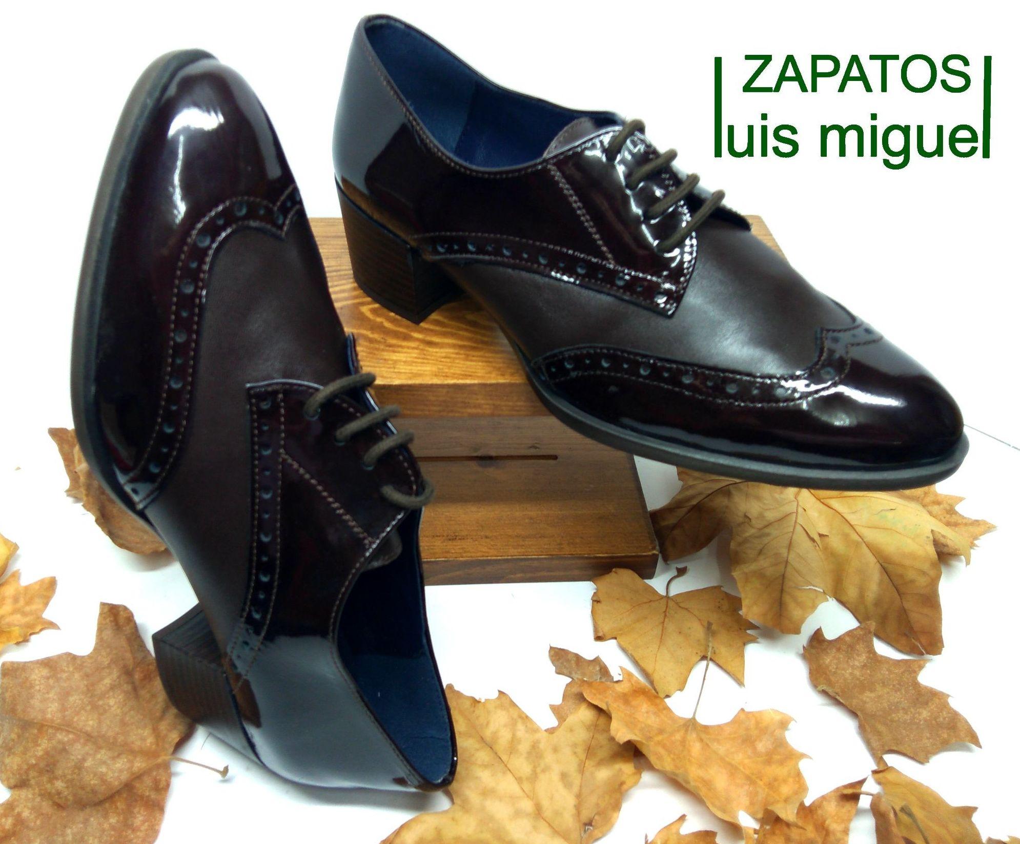 zapato blucher y pala vega: Catalogo de productos de Zapatos Luis Miguel