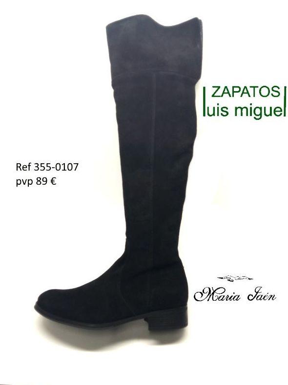 botas altas por encma de la rodilla (ref 355 0107): Catalogo de productos de Zapatos Luis Miguel