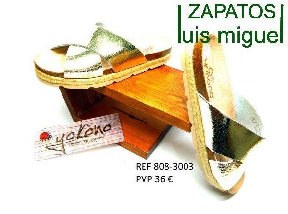 yokono tiras cruzadas planas: Catalogo de productos de Zapatos Luis Miguel