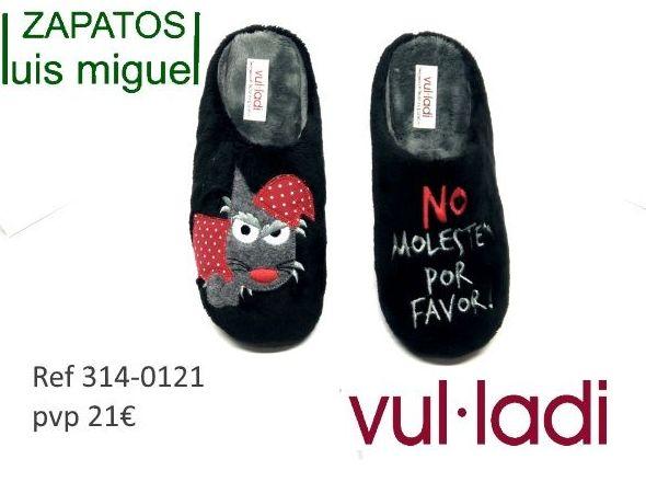 Zapatillas de estar en casa ( ref 314-0121): Catalogo de productos de Zapatos Luis Miguel