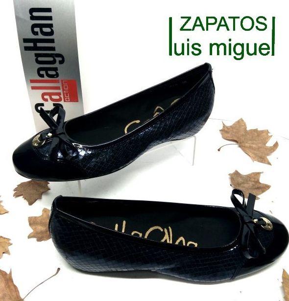 piel callaghan manoletinas: Catalogo de productos de Zapatos Luis Miguel