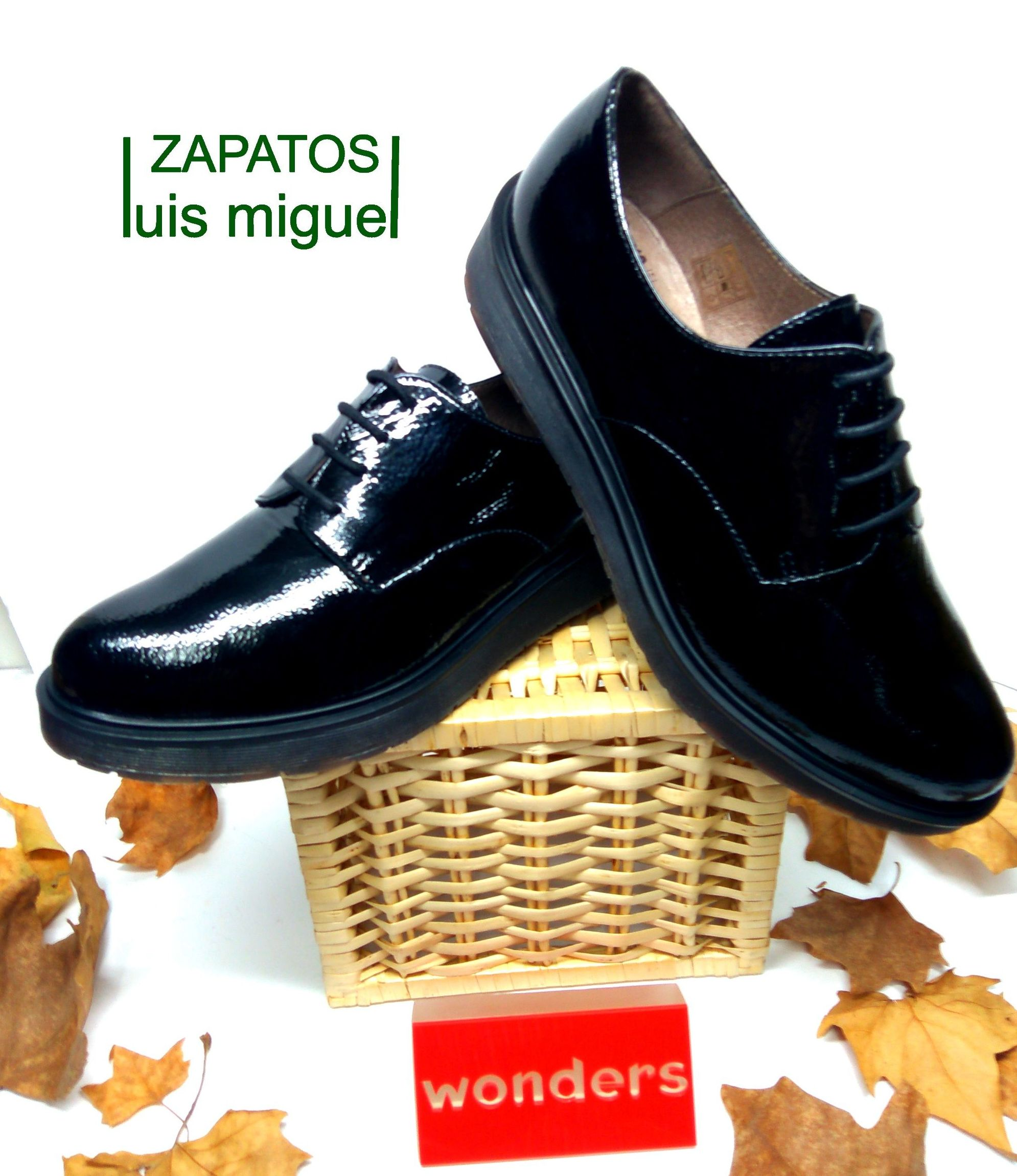 zapatos de cordones WONDERS: Catalogo de productos de Zapatos Luis Miguel