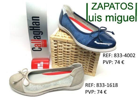 manoletina de callaghan: Catalogo de productos de Zapatos Luis Miguel