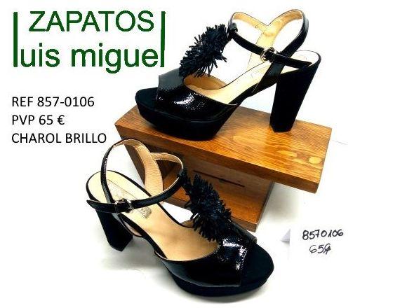 sandalias de Patricia Miller tacon alto y ancho: Catalogo de productos de Zapatos Luis Miguel