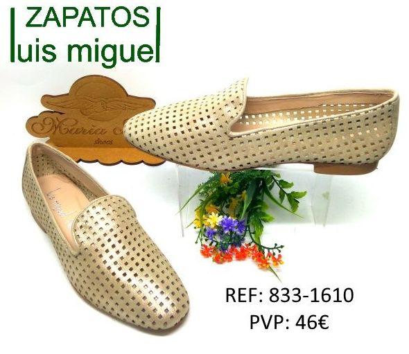 Mocasin calado Maria Jaen: Catalogo de productos de Zapatos Luis Miguel