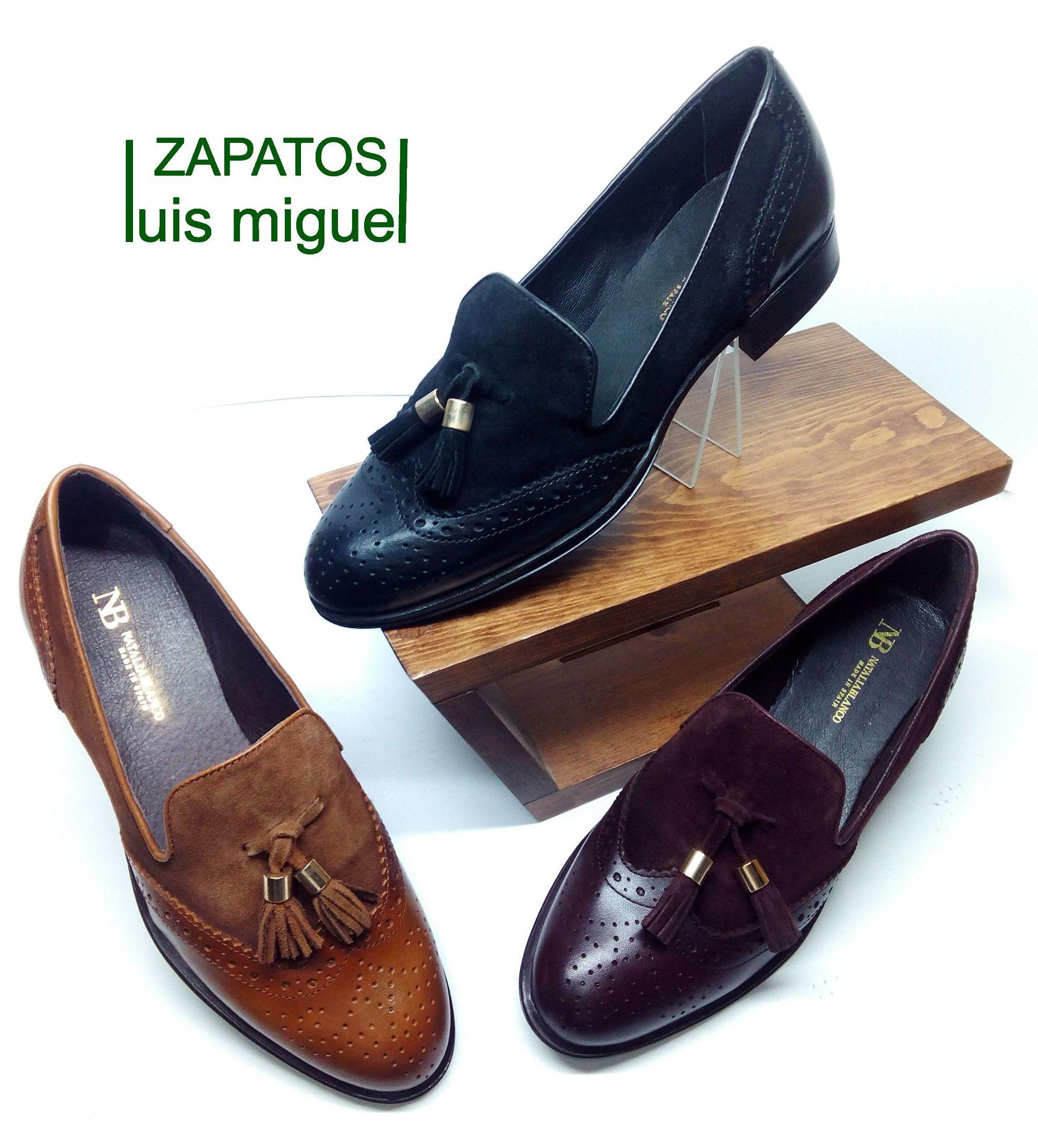 tipo mocasin con borlas y pala vega: Catalogo de productos de Zapatos Luis Miguel