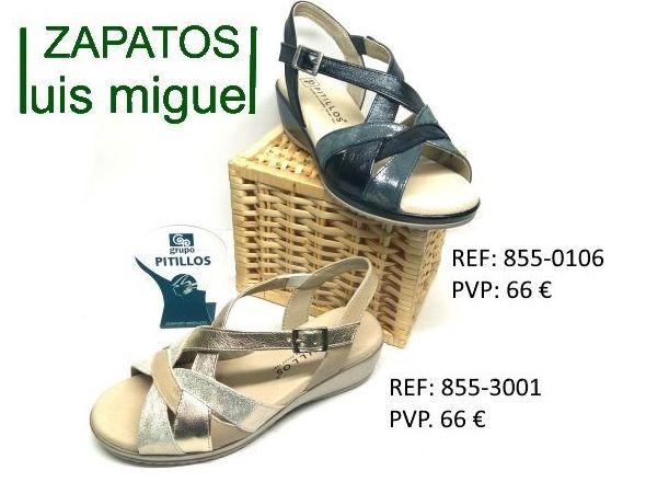sandalias pitillos con cuña: Catalogo de productos de Zapatos Luis Miguel