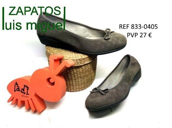 Manoletinas super comodas de vulladi: Catalogo de productos de Zapatos Luis Miguel